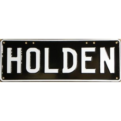Holden without images