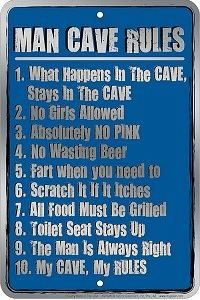 USSmPkg - MAN CAVE RULES