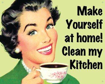 US Tin Sign - MAKE YOURSELF AT HOME