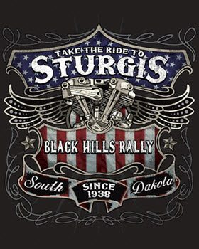 USTin Sign - STURGIS TAKE RIDE BLACK HILLS