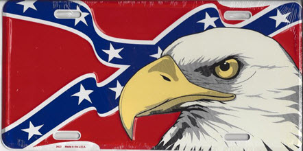 Confederate Flag Bald Eagle Dixie Souvenirs