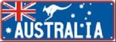Aussie Patriotic Plates