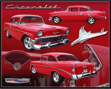 Chevrolet Parts Tin Sign dixie Small Parking