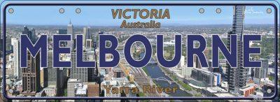 Aussie Tourist plates