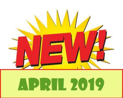 New Items April 2019