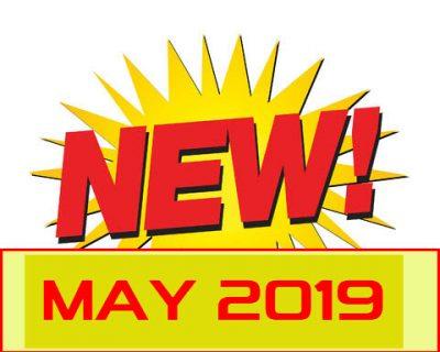 New Items May 2019
