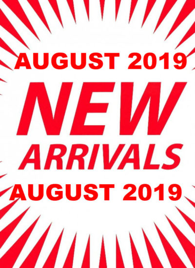 New Items August 2019